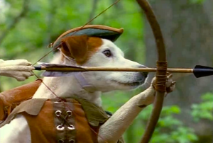 wishbone as robin hood